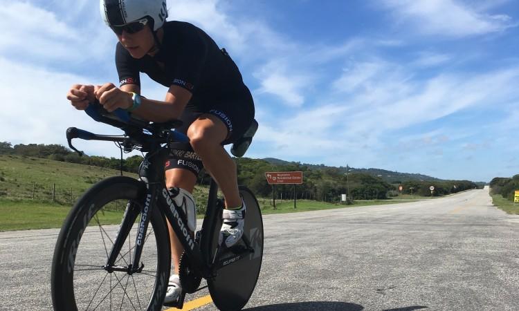 Pro triathlete Nikki Bartlett