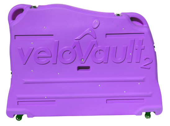 Velovault2 bike box purple