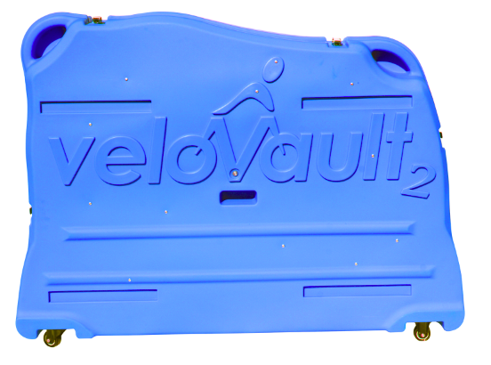 Velovault2 bike box blue