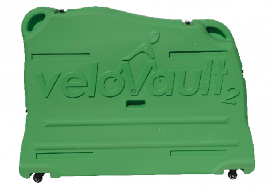 Velovault2 bike box forest green